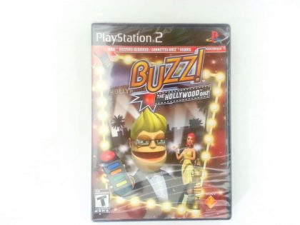 Buzz!: The Hollywood Quiz game for Sony Playstation 2 PS2 - New