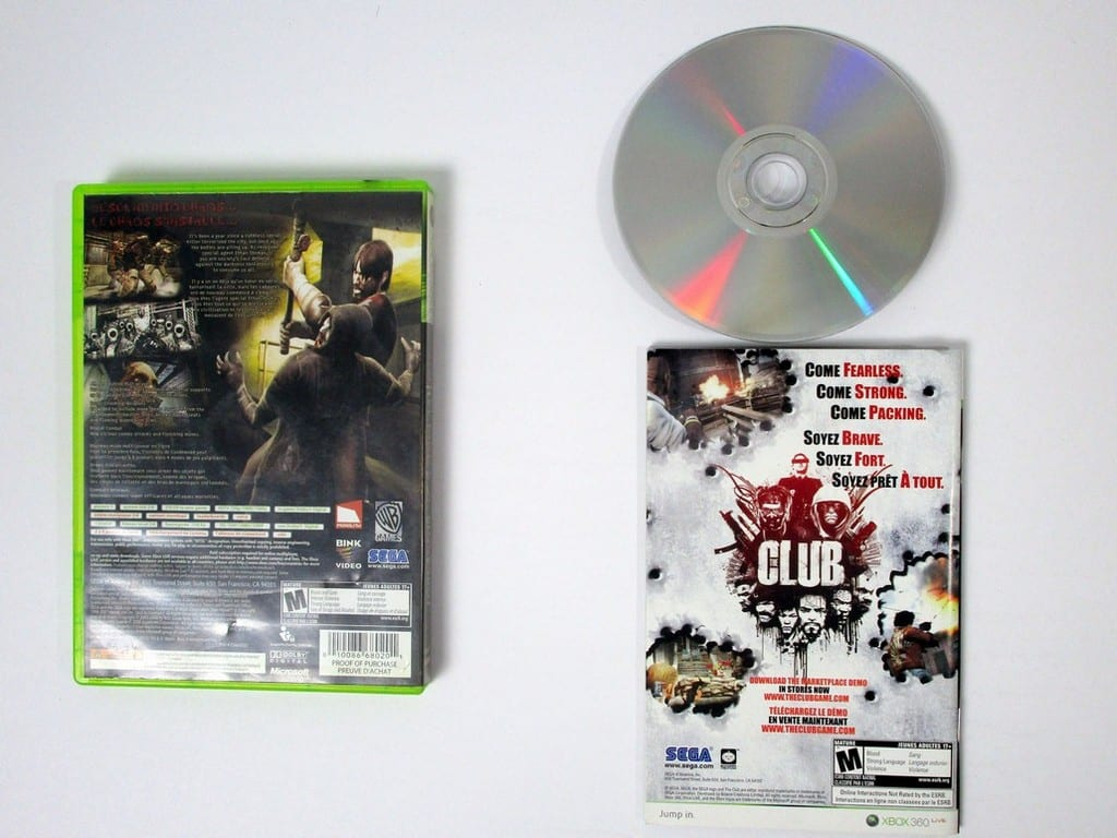 Condemned 2 Bloodshot game for Xbox 360 (Complete) | The Game Guy