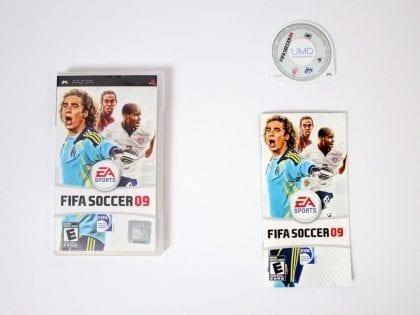 FIFA Soccer 09 game for Sony PSP -Complete