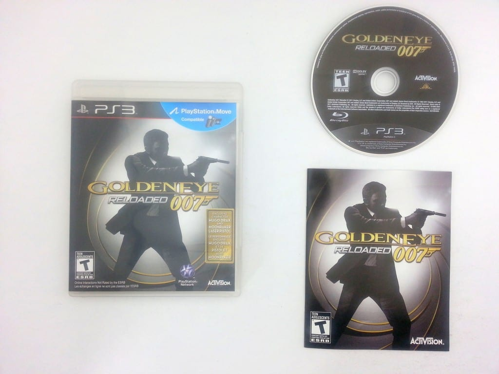 Goldeneye 007 Reloaded game for Sony Playstation 3 PS3 -Complete