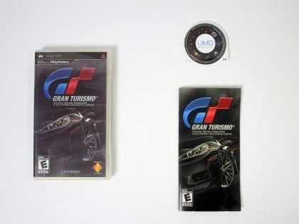 Gran Turismo game for Sony PSP -Complete
