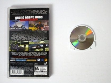 Grand Theft Auto Liberty City Stories game for PSP | The Game Guy