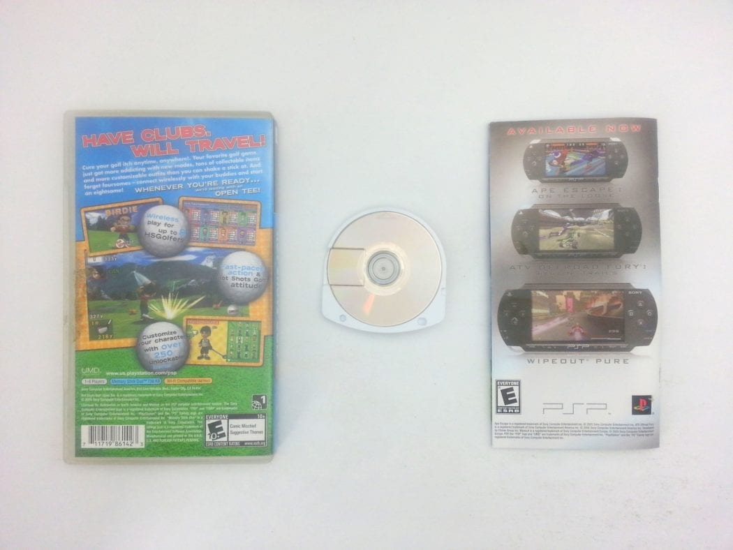 Hot Shots Golf Open Tee game for PSP (Complete) | The Game Guy