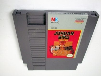 Jordan vs Bird One on One game for Nintendo NES - Loose