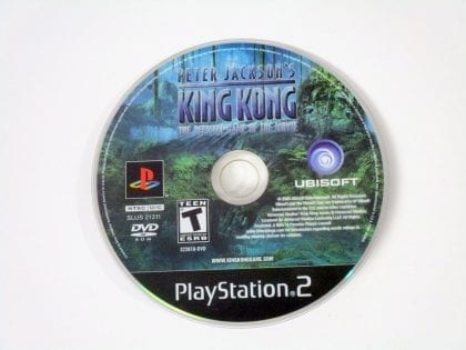 King Kong the Movie game for Sony Playstation 2 PS2 - Loose