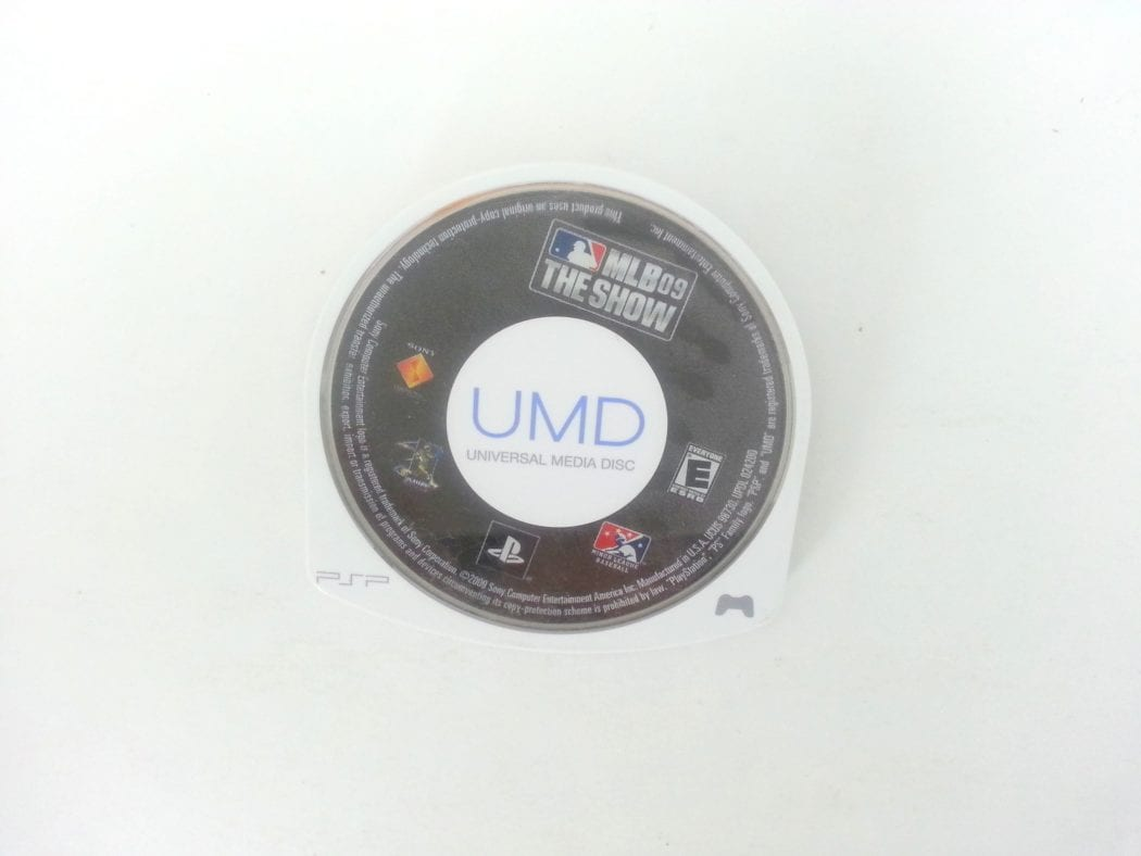 MLB 09: The Show game for Sony PSP - Loose