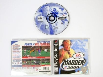 Madden 2000 game for Sony Playstation PS1 PSX -Complete
