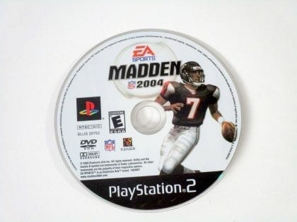 Madden 2004 game for Sony Playstation 2 PS2 - Loose