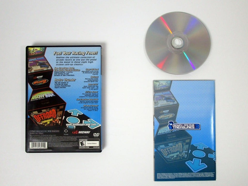Midway Arcade Treasures 3 game for Playstation 2 (Complete) | The Game Guy