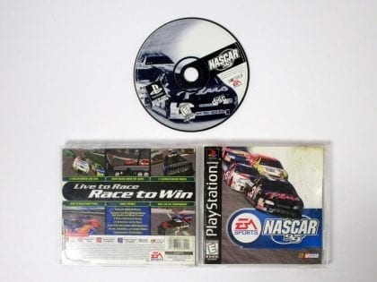 NASCAR 99 game for Sony Playstation PS1 PSX -Complete