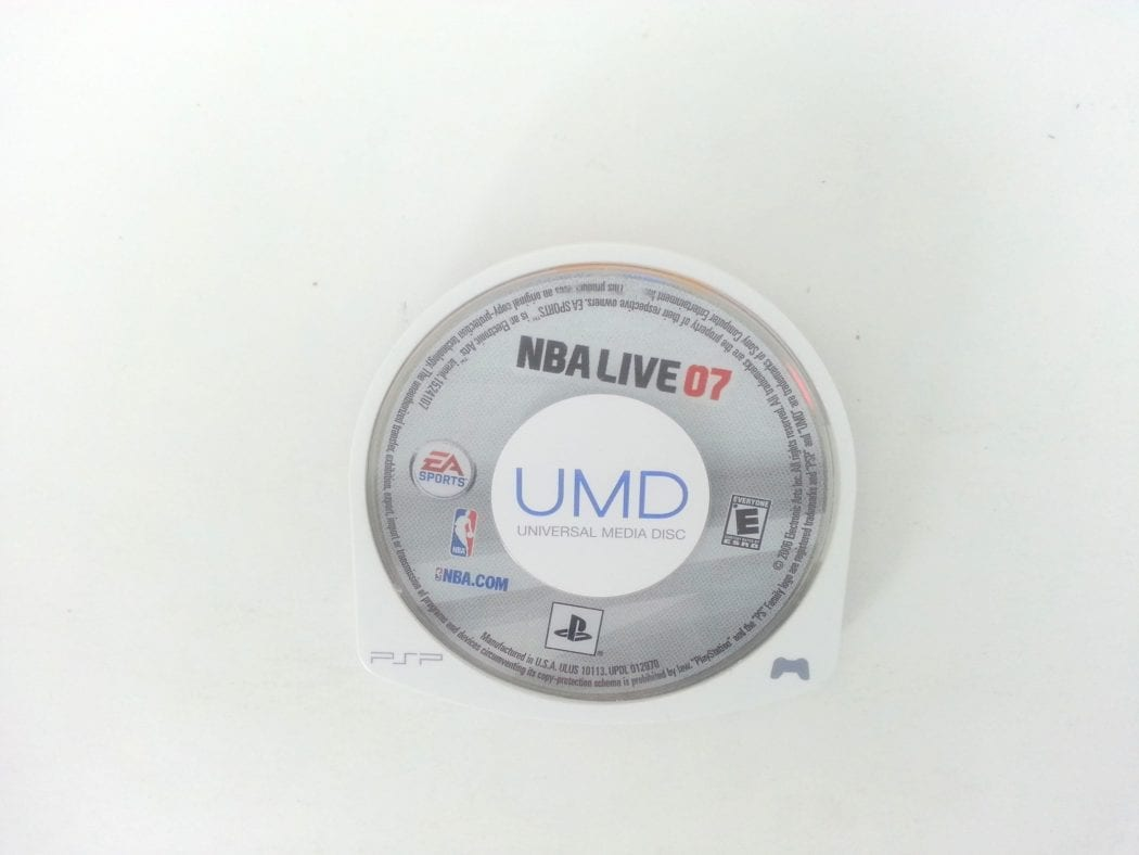 NBA Live 2007 game for Sony PSP - Loose