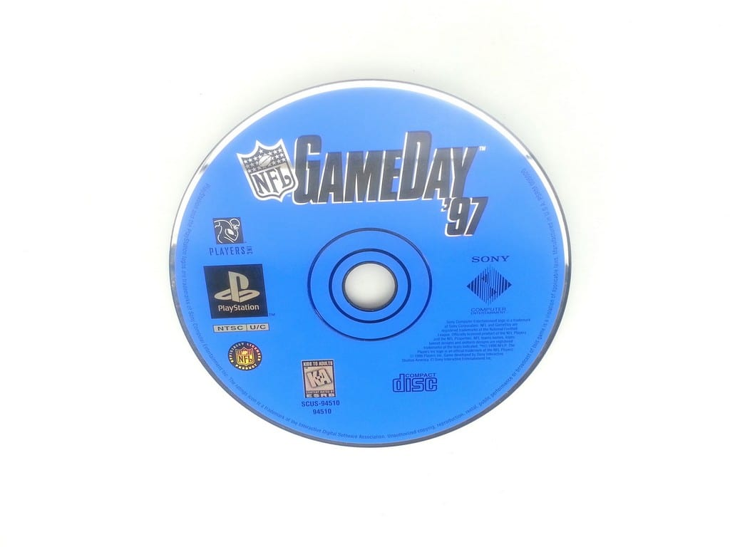 NFL GameDay 97 game for Sony Playstation PS1 PSX - Loose