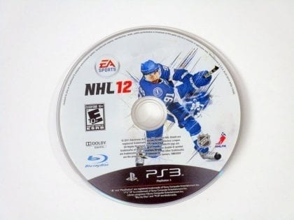 NHL 12 game for Sony Playstation 3 PS3 - Loose