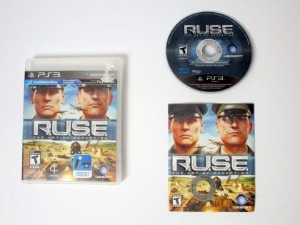 R.U.S.E. game for Sony Playstation 3 PS3 -Complete