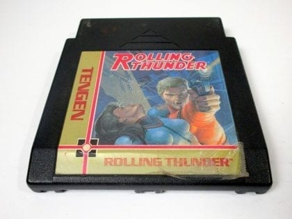 Rolling Thunder game for Nintendo NES - Loose