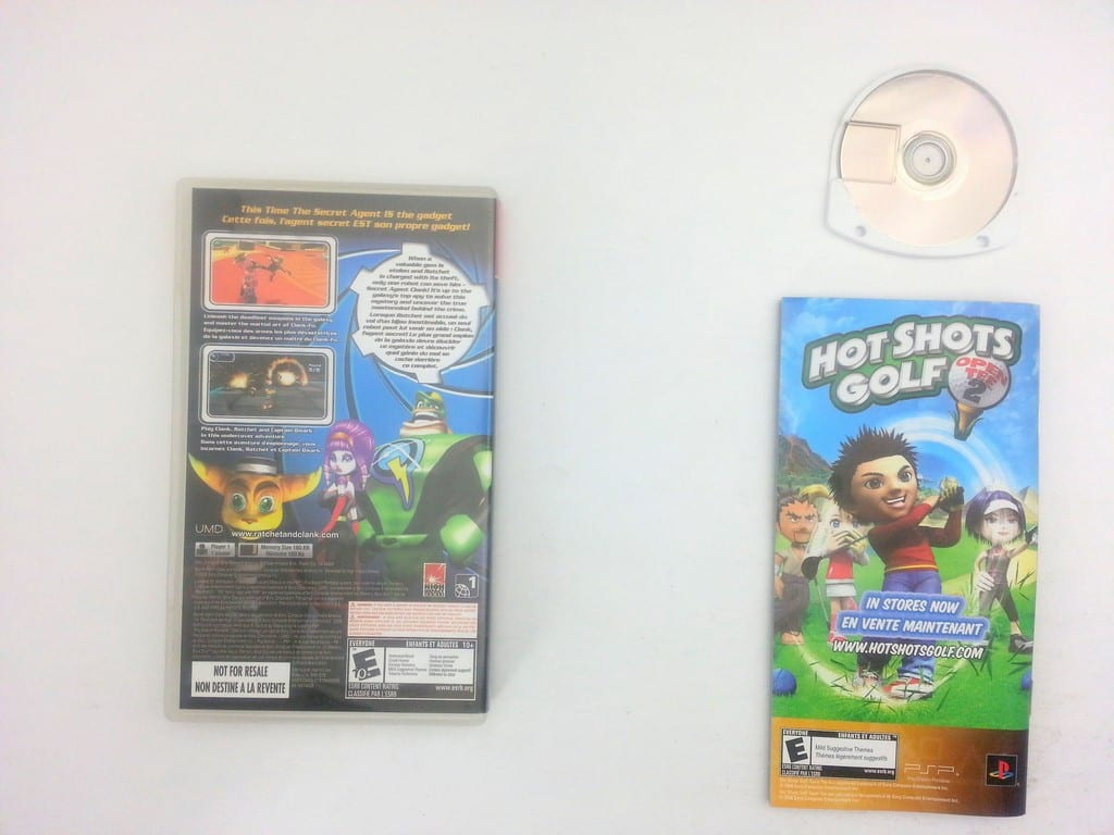 Secret Agent Clank game for PSP (Complete)   The Game Guy