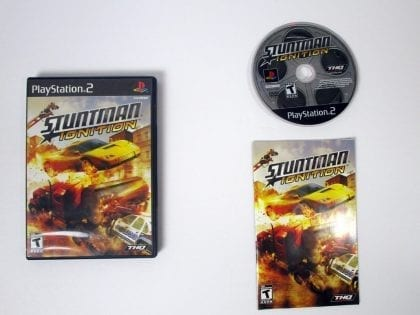 Stuntman Ignition game for Sony Playstation 2 PS2 -Complete