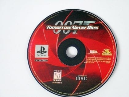 Tomorrow Never Dies game for Sony Playstation PS1 PSX - Loose