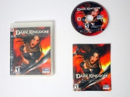 Untold Legends Dark Kingdom game for Sony Playstation 3 PS3 -Complete