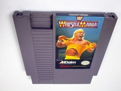 WWF Wrestlemania game for Nintendo NES - Loose