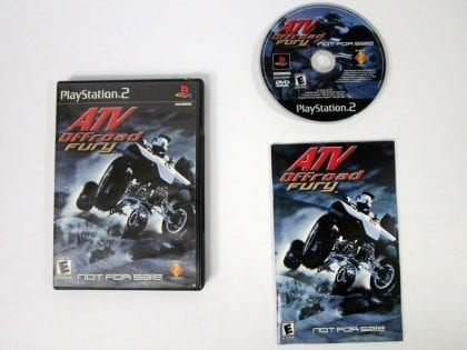 ATV Offroad Fury game for Sony Playstation 2 PS2 -Complete