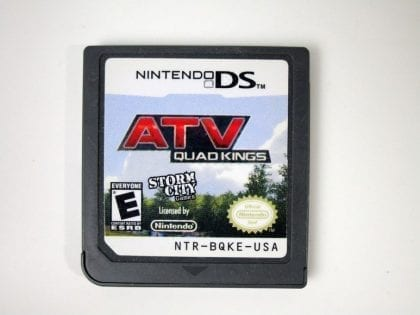 ATV Quad Kings game for Nintendo DS - Loose