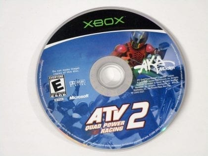 ATV Quad Power Racing 2 game for Microsoft Xbox - Loose
