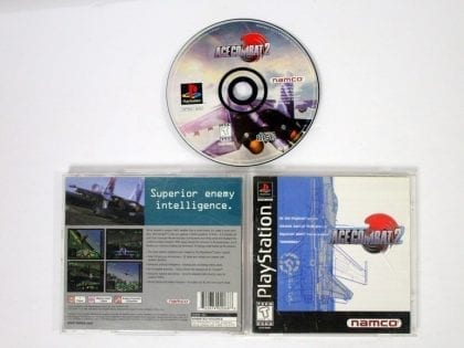 Ace Combat 2 game for Sony Playstation PS1 PSX -Complete