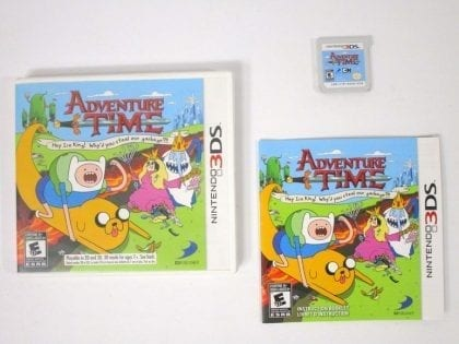Adventure Time: Hey Ice King game for Nintendo 3DS -Complete
