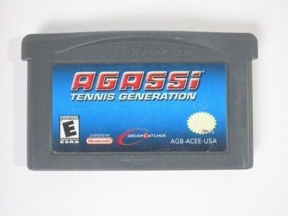 Agassi Tennis Generation game for Nintendo Gameboy Advance - Loose