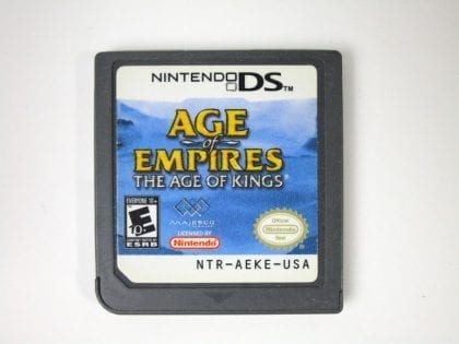 Age of Empires The Age of Kings game for Nintendo DS - Loose