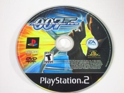 Agent Under Fire game for Sony Playstation 2 PS2 - Loose
