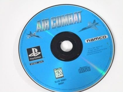 Air Combat game for Sony Playstation PS1 PSX - Loose