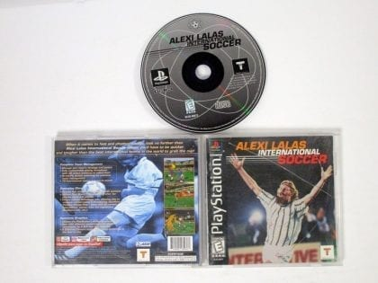 Alexi Lalas International Soccer game for Sony Playstation PS1 PSX -Complete