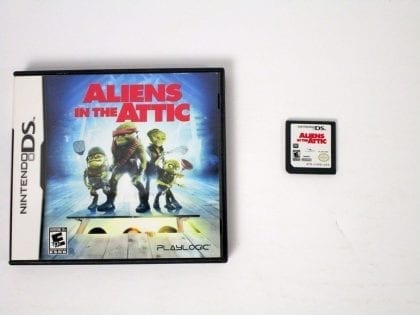 Aliens in the Attic game for Nintendo DS -Game & Case