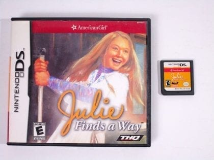American Girl Julie Finds a Way game for Nintendo DS -Game & Case