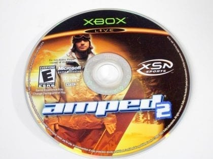 Amped Snowboarding 2 game for Microsoft Xbox - Loose