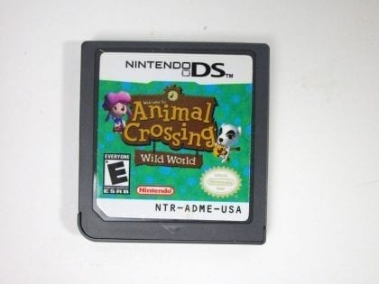 Animal Crossing Wild World game for Nintendo DS - Loose