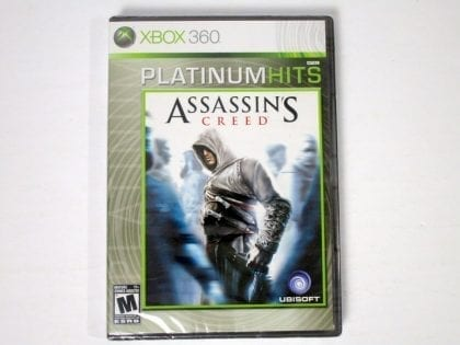Assassin's Creed game for Microsoft Xbox 360 - New
