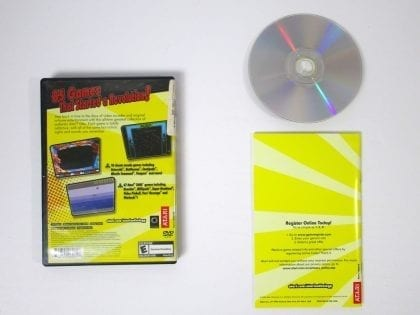 Atari Anthology game for Playstation 2 (Complete) | The Game Guy