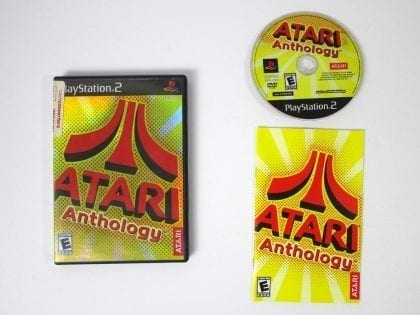Atari Anthology game for Sony Playstation 2 PS2 -Complete