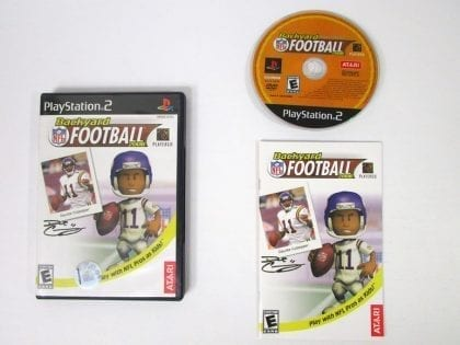 Backyard Football game for Sony Playstation 2 PS2 -Complete