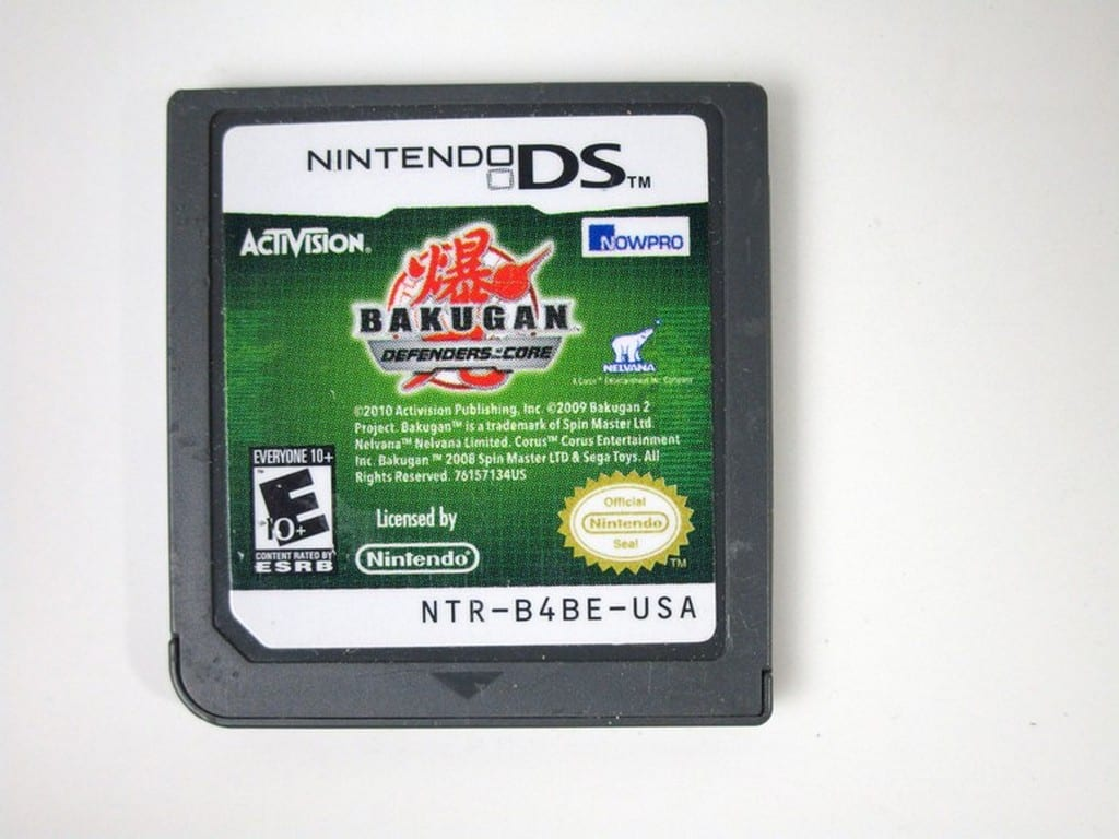 Bakugan: Defenders of the Core game for Nintendo DS - Loose
