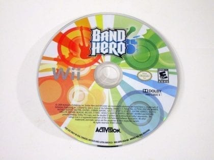 Band Hero game for Nintendo Wii - Loose