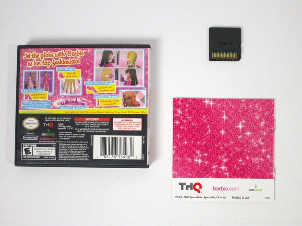 Set & Style game for Nintendo DS -Complete