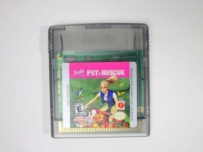 Barbie Pet Rescue game for Nintendo GameBoy Color - Loose