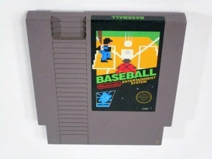 Baseball game for Nintendo NES - Loose
