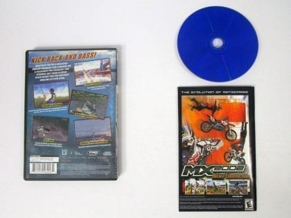 Bass Strike game for Playstation 2 (Complete)   The Game Guy