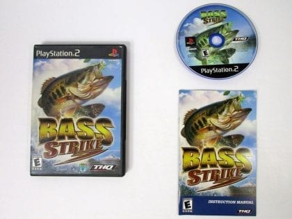 Bass Strike game for Sony Playstation 2 PS2 -Complete