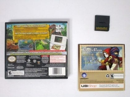 Battle of Giants: Dinosaurs game for Nintendo DS (Complete)   The Game Guy